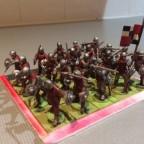 Swordsmen painted