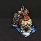 Dwarf King on war throne