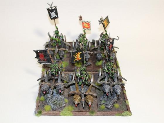 Games Workshop Goblin Wolf Chariots