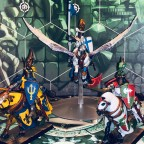 1 Pegasus Knight and 2 Knights of the Realm
