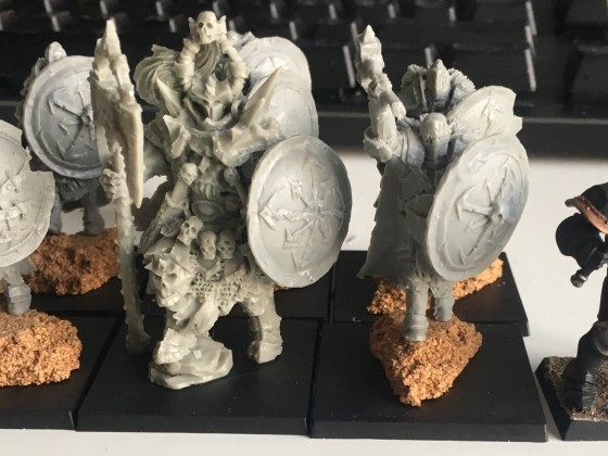 Forsworn with Doomlord comparison shot with Chosen Warrior