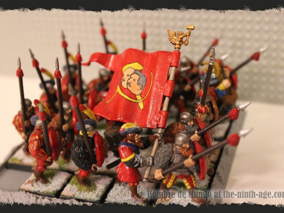 Heavy Infantry Battalion with Spears 2