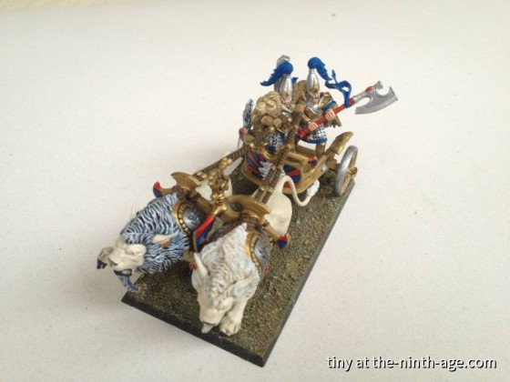 Lion Chariot