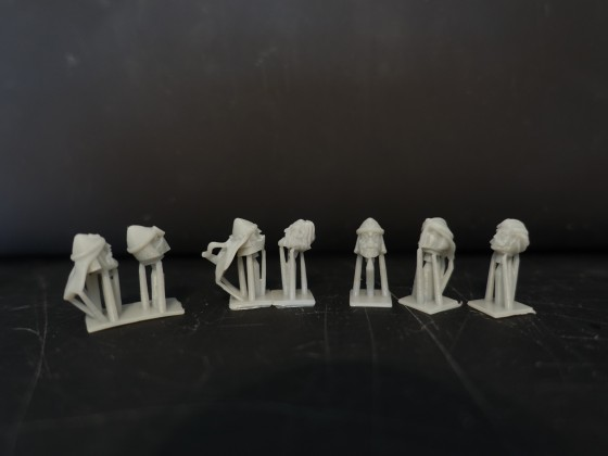 3D-printed Tartessos Miniatures Dock Guard