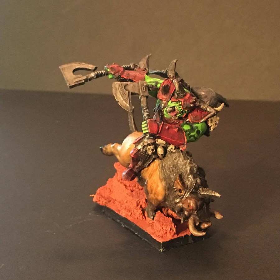 Orc lord on boar