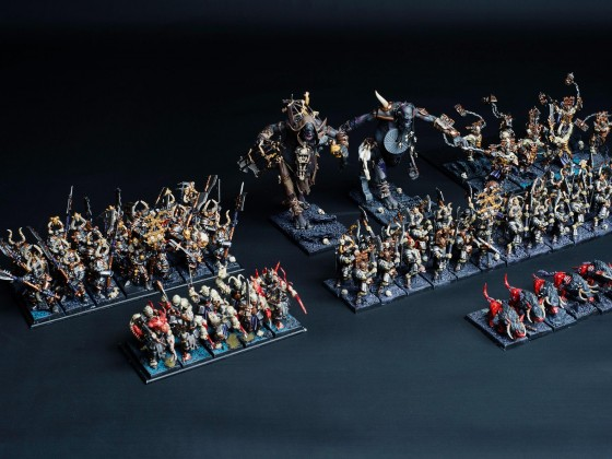Chaos infantry
