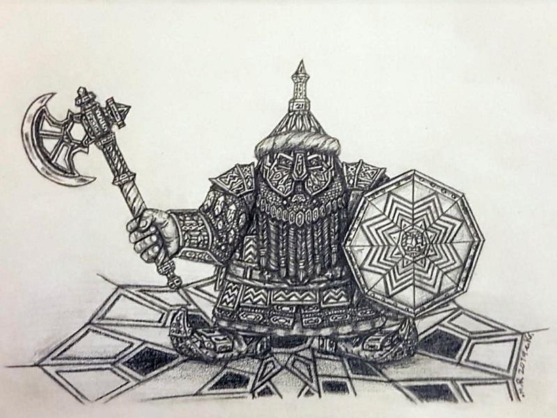 Nekoshim Dwarf of the Copper Mountains