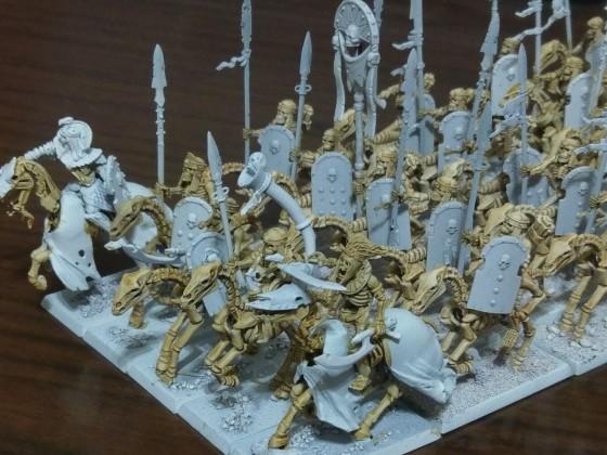 Skeleton cavalry wip