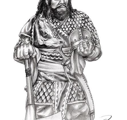 Kegiz Gavem Dwarf At Rest by Paulus Indomitus