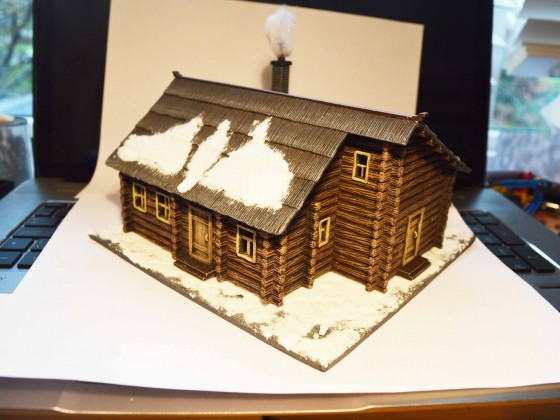 Russian Log House (Pegasus Hobbies)