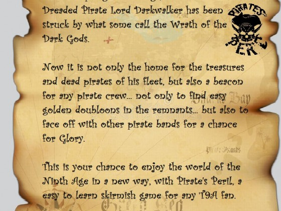 Pirate Peril teaser