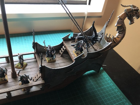 Dread Elf Ship