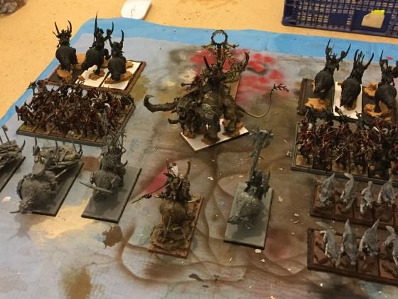 Beast herds army