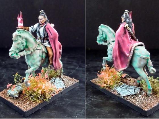 UD - Death Cult Hierarch on Skeletal Horse