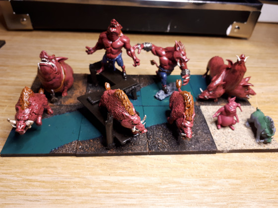 WIP 2 swines and boars