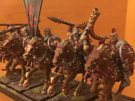 My first marauder horsemen (right)