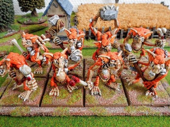 Cave trolls - Orcs and goblins