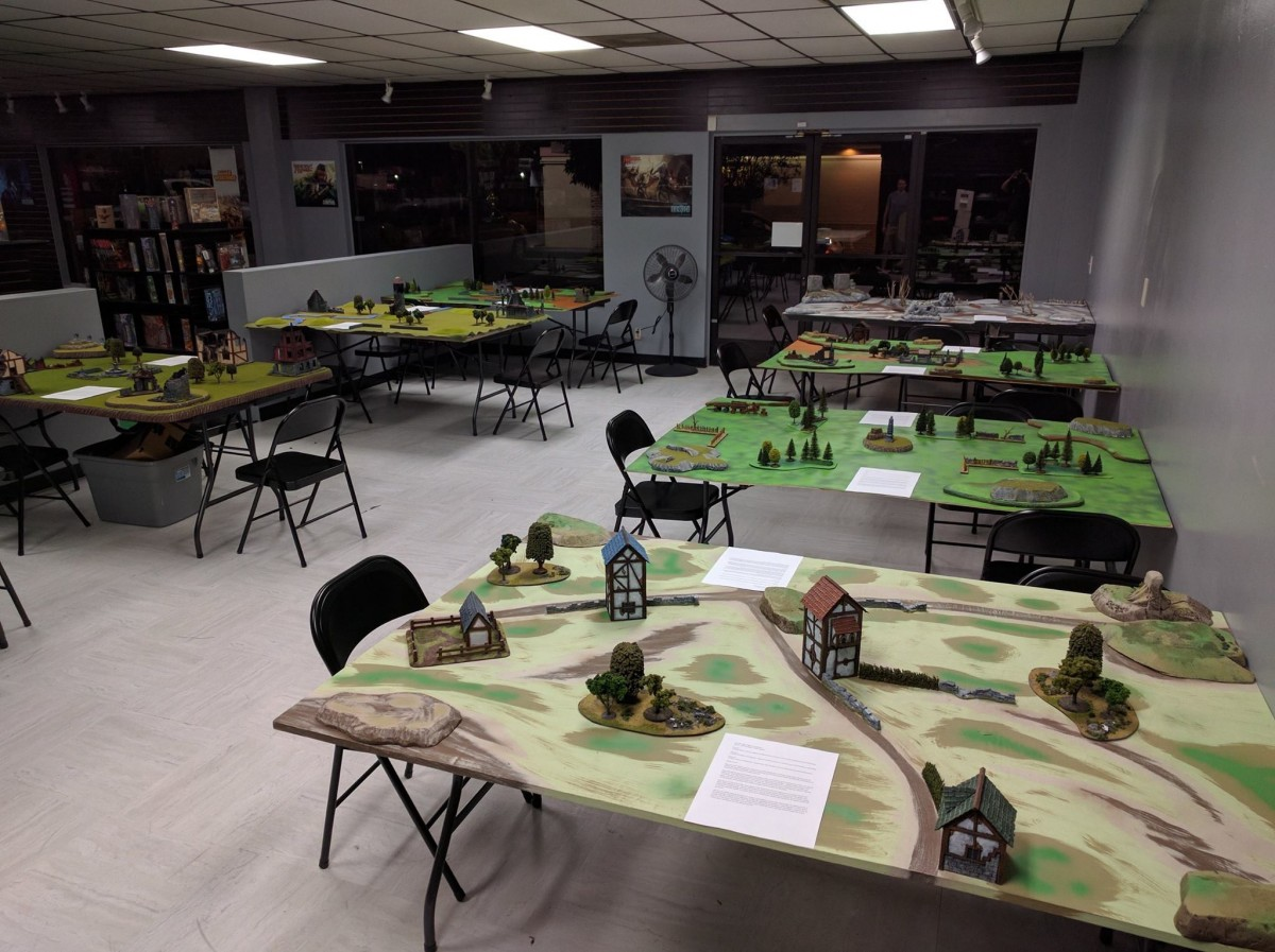 West Coast's First, Official 9th Age Tournament
