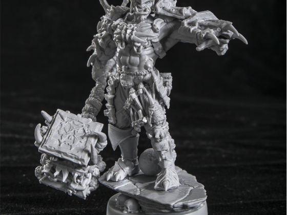 28mm Orc Warlord v2.0
