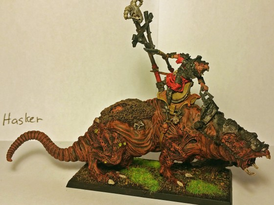 Clanlord on Giant Blight Rat