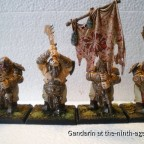 """Unit of Four Ogre Ironclads Painted by """"Chuck"""""""