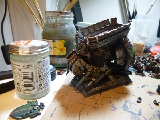 'Dwarven Giant' WIP 1 (Grudge Buster)
