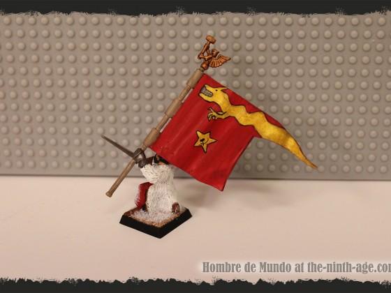 Light INfantry Battalion Standard Bearer