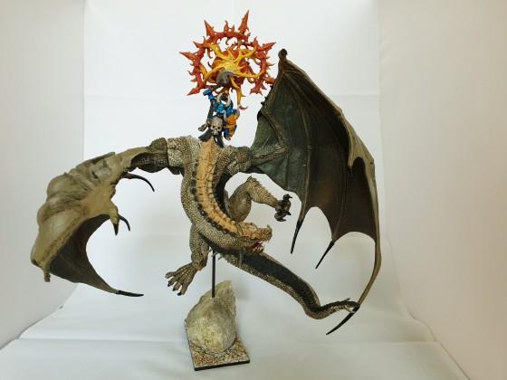Chosen Lord on Wasteland Dragon