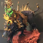Orc lord on Gargantula