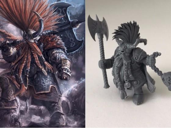 Dwervgar Gorn - Seeker King