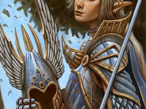 Higborn Elf Sword Master by Samo94
