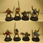 HeroQuest Characters (original 4)