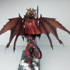 Rear view of the Manticore and his wings