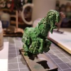 Green Knight Horse