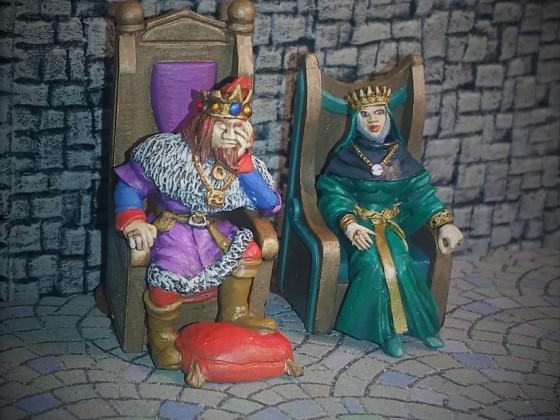 His Majesty & Her Majesty
