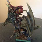 Iron Orc Warboss on Wyvern