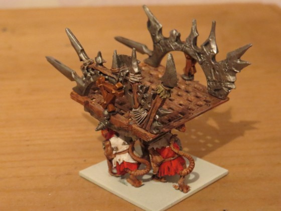 Tyrant mount a warthrone conversion