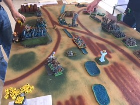 Saurian Ancients vs Dwarves