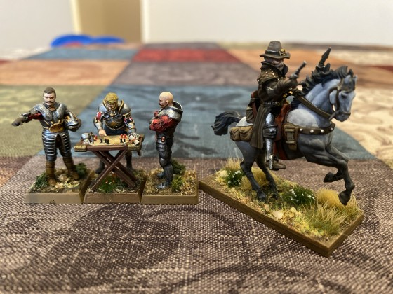 EoS Marshal Command Group and Inquisitor