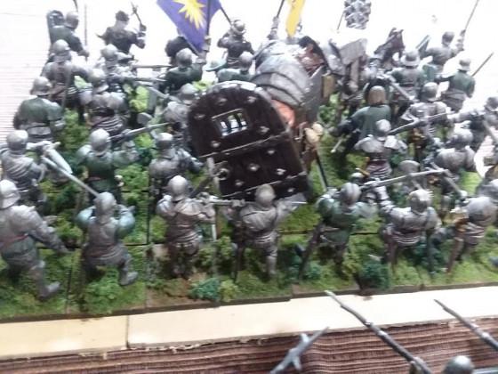 Ogre mercenaries as unit fillers for EoS