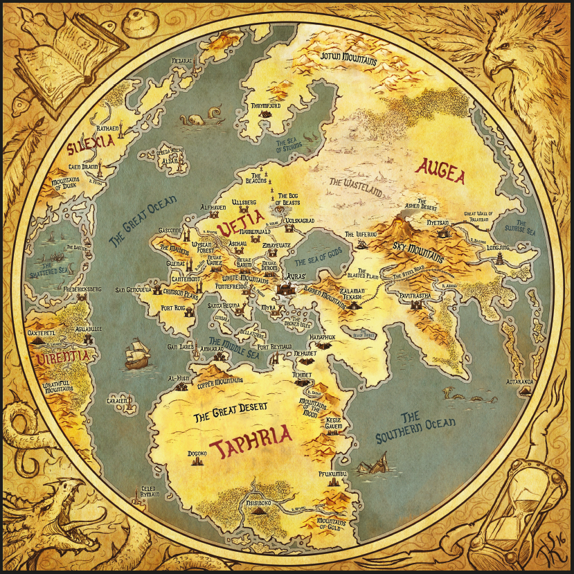 Images in category official t9a maps gallery the 9th age the 9th age world map low res gumiabroncs Gallery