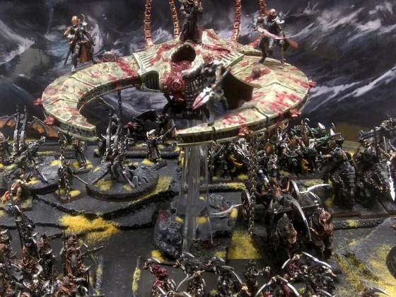 Dread elf army