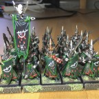 Tale of slow painters, front rank done