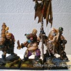 "Unit of Three Ogre Mercenaries Painted by ""Chuck"""