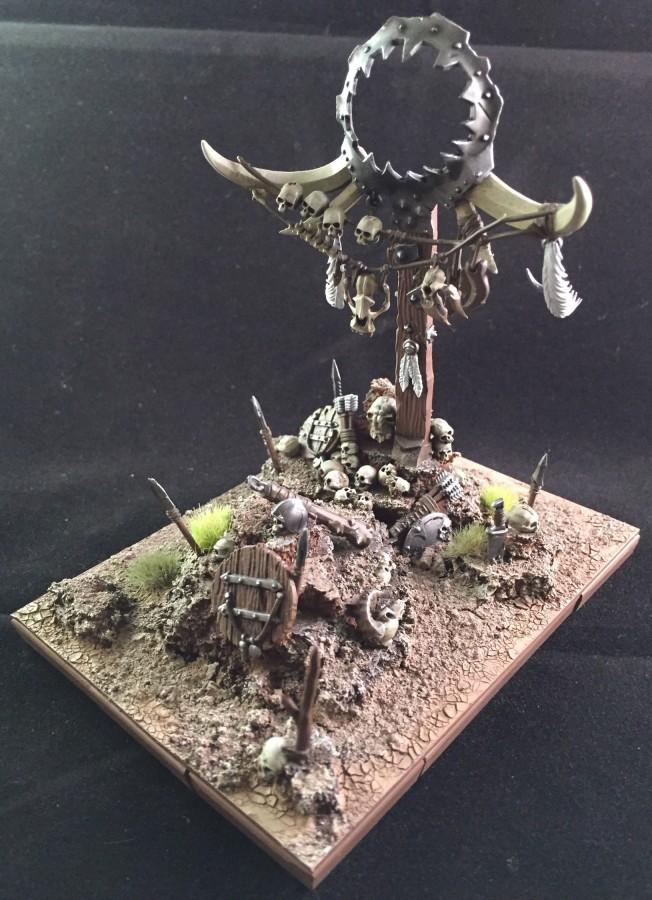 Beast herds totem pole
