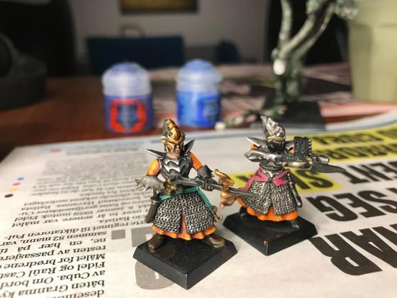 MrMossevig's Painting League 2019 - Nailing the Paint Scheme