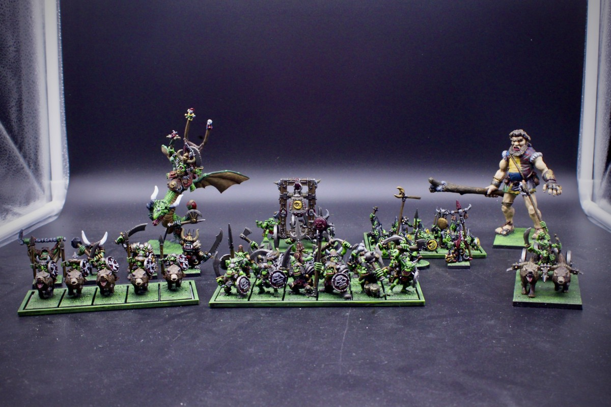 Orc and Goblins Oldhammer