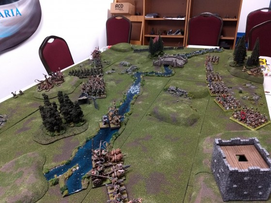 The Battle of Kernhaven Hollow, Orcs & Goblins vs. Dwarves