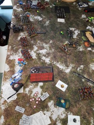 Battlereport EoS vs. WDG