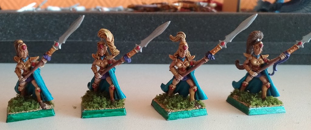 Queen's Guard with spears